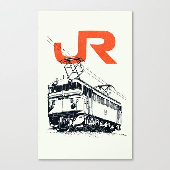 On Paper: JR EF65-100 Canvas Print