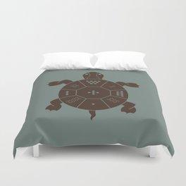 Lo Shu Turtle Duvet Cover