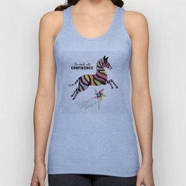 Be Weird With Confidence Unisex Tank Top