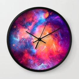 Artistic XCI - Nebula Wall Clock
