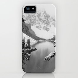 The View (Black and White) iPhone Case