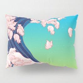 Piglets Waves Pillow Sham