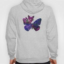 Marble Butterflies Hoody
