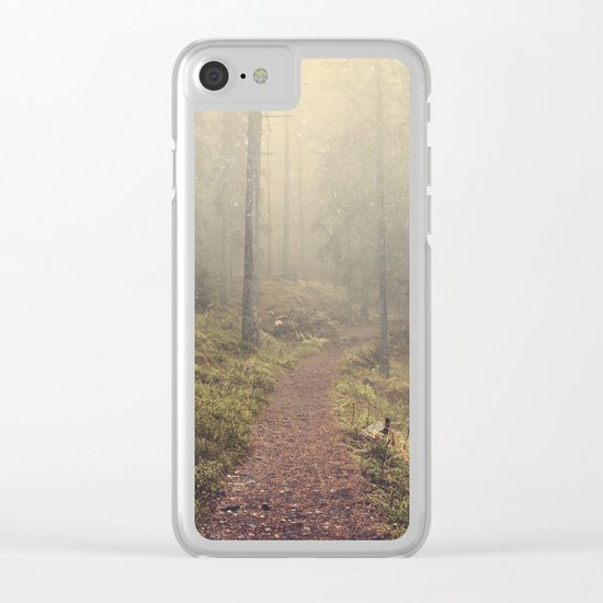 Norwegian Woods Clear iPhone Case