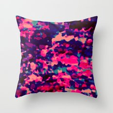 deeP macUla Throw Pillow