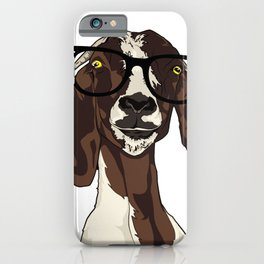 Hipster Goat iPhone Case