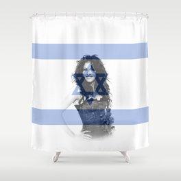 ESC Israel 1998 Shower Curtain