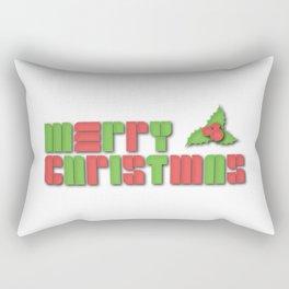 Merry Christmas - Christmas Cheer Rectangular Pillow