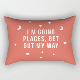 Out My Way Rectangular Pillow
