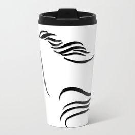 Swift Mare Stylized Inking Travel Mug