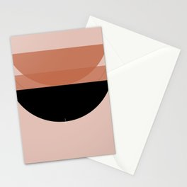 Abstract Composition 12 - Lotus Stationery Cards