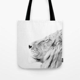 Lion, Animal, Minimal, Trendy decor, Nursery, Interior, Wall art, Photo Tote Bag