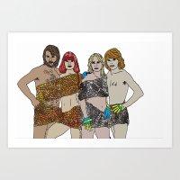ABBBA Art Print