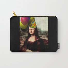 Mona Lisa Birthday Girl Carry-All Pouch