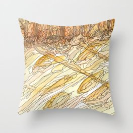 Eno River #32 Throw Pillow