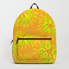 Orange Crush Petal Rose Backpack