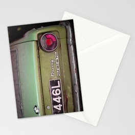 Car Touring 2002 Stationery Cards