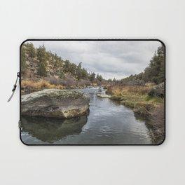 Deschutes River at Eagle Crest Laptop Sleeve