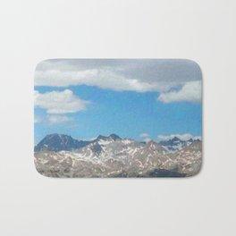 Bridger - Teton Mountains Bath Mat