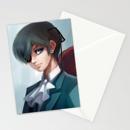 Ciel Phantomhive portrait Stationery Cards