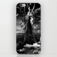 XVI. The Tower Tarot Illustration iPhone & iPod Skin