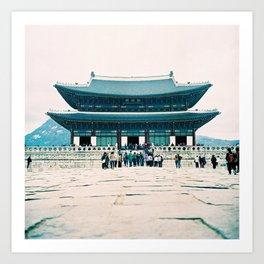 Korean Palace Art Print