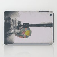 harry iPad Cases featuring Judge Harry by Robotic Ewe