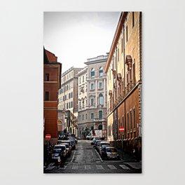 wrong way Canvas Print