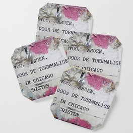Urban poetry Coaster