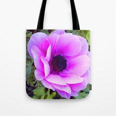 Pink Poppy Anemone I Tote Bag