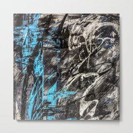 Areus, an abstract Metal Print