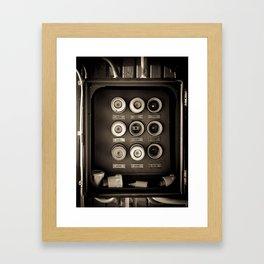 Pulses Framed Art Print