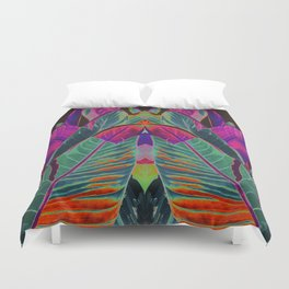 leaves pattern II Duvet Cover