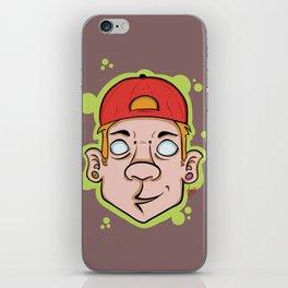 Hip Hop guy iPhone Skin