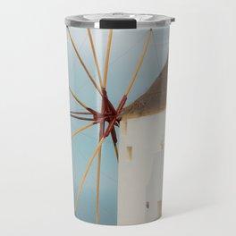 Oia Windmill Travel Mug