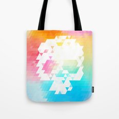 Skull Colors Tote Bag