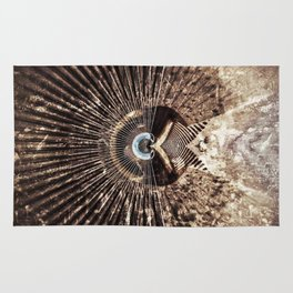 Geometric Art - WITHERED Rug