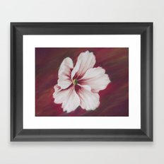 Painted Flower Framed Art Print