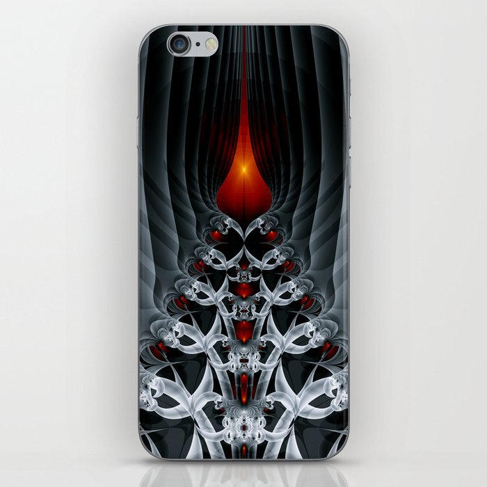Fractal Art by Sven Fauth - Path to hell iPhone Skin