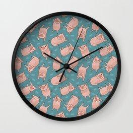 Pattern Project #52 / Piglets Wall Clock