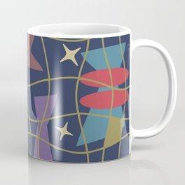 Mid Century Modern Abstract Pattern 582 Coffee Mug