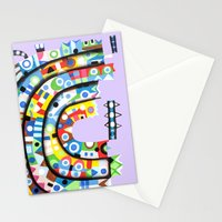The steamer Stationery Cards