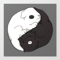 Yin & Yang Canvas Print