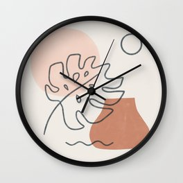 a warm feeling Wall Clock