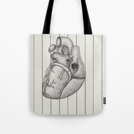 Anatomy of the Heart Tote Bag