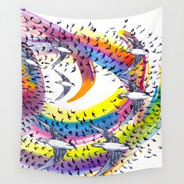 Spin and Spin Wall Tapestry