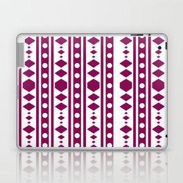 Marsala Tribal Pattern Laptop & iPad Skin