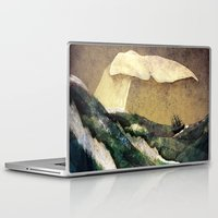 storm Laptop & iPad Skins featuring Moby Dick by Rachael Shankman