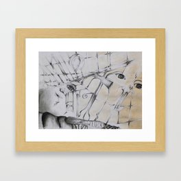 An Abstract Perspective  Framed Art Print