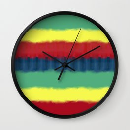 Tie Graphic Wall Clock